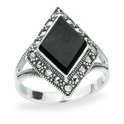 Marcasite jewelry ring HR1229 1