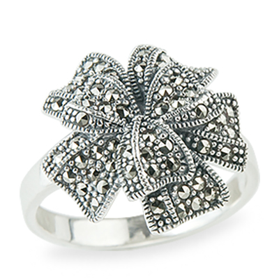 Marcasite jewelry ring HR1240 1