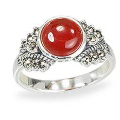 Marcasite jewelry ring HR1242 1