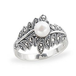 Marcasite jewelry ring HR1244 1