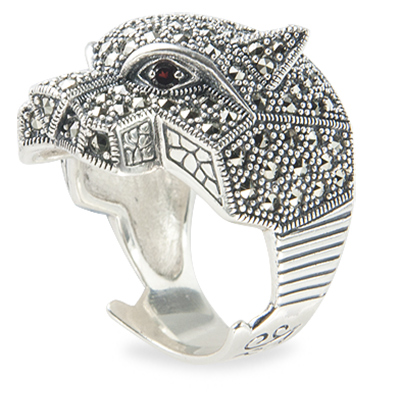 Marcasite jewelry ring HR1246 1