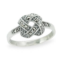 Marcasite jewelry ring HR1251 1
