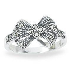 Marcasite jewelry ring HR1254 1