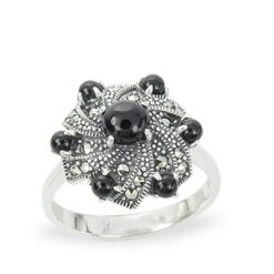 Marcasite jewelry ring HR1255 1