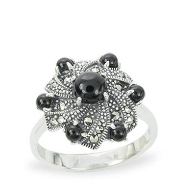 Marcasite jewelry ring HR1255 1