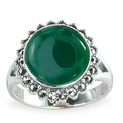 Marcasite jewelry ring HR1257 1