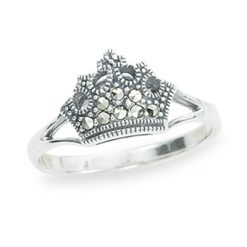 Marcasite jewelry ring HR1259 1