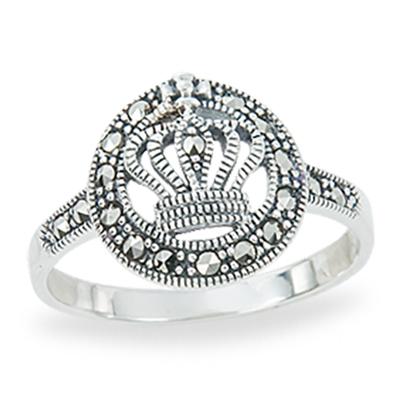 Marcasite jewelry ring HR1267 1