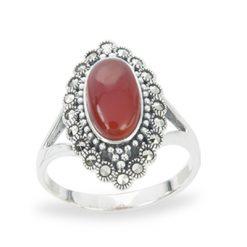 Marcasite jewelry ring HR1268 1