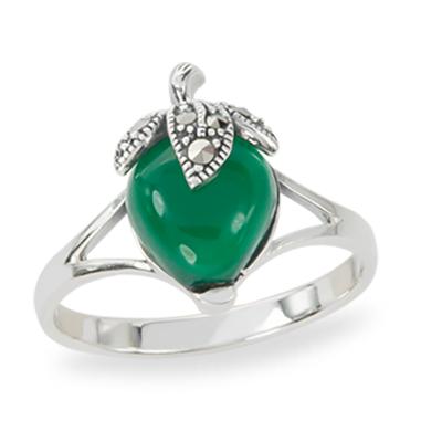 Marcasite jewelry ring HR1270 1