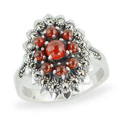 Marcasite jewelry ring HR1271 1