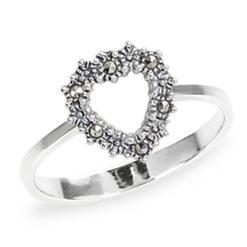 Marcasite jewelry ring HR1274 1