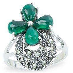 Marcasite jewelry ring HR1277 1