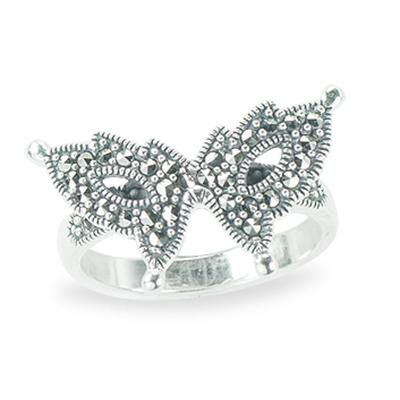 Marcasite jewelry ring HR1279 1