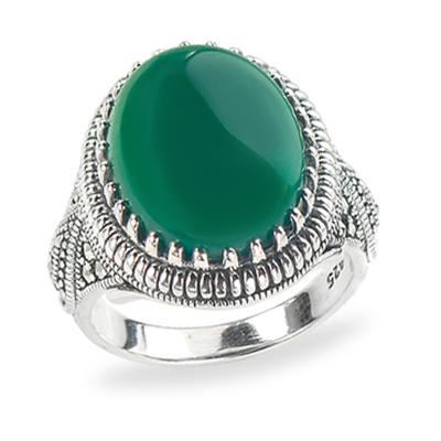 Marcasite jewelry ring HR1290 1