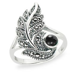 Marcasite jewelry ring HR1294 1