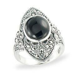 Marcasite jewelry ring HR1300 1