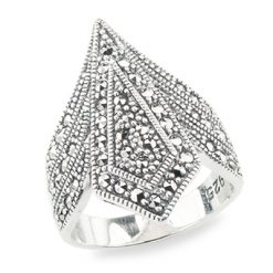 Marcasite jewelry ring HR1301 1 1