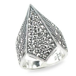 Marcasite jewelry ring HR1301 2 1