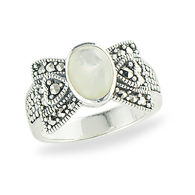 Marcasite jewelry ring HR1311 1