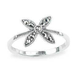 Marcasite jewelry ring HR1312 1