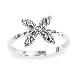 Marcasite jewelry ring HR1312 1