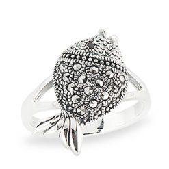 Marcasite jewelry ring HR1334 1