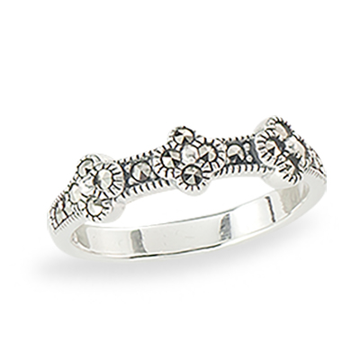 Marcasite jewelry ring HR1335 1