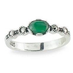 Marcasite jewelry ring HR1336 1