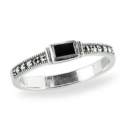 Marcasite jewelry ring HR1337 1