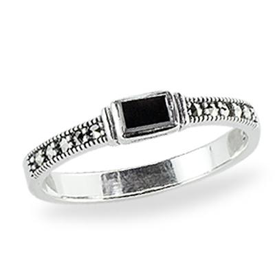 Marcasite jewelry ring HR1337 1