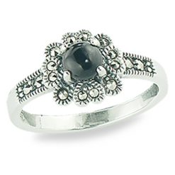 Marcasite jewelry ring HR1346 1