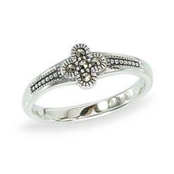 Marcasite jewelry ring HR1353 1