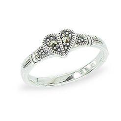 Marcasite jewelry ring HR1354 1