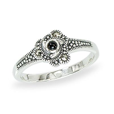 Marcasite jewelry ring HR1356 1