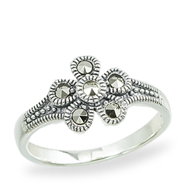 Marcasite jewelry ring HR1361 1