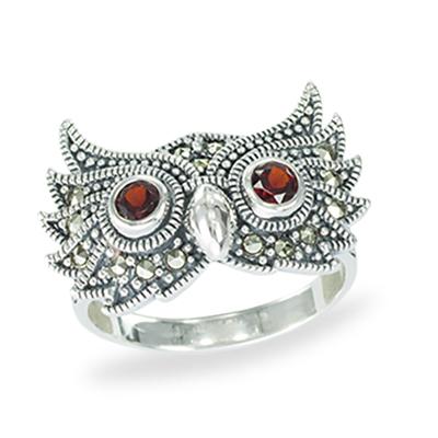 Marcasite jewelry ring HR1367 1