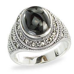 Marcasite jewelry ring HR1374 1