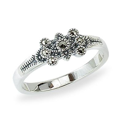 Marcasite jewelry ring HR1382 1