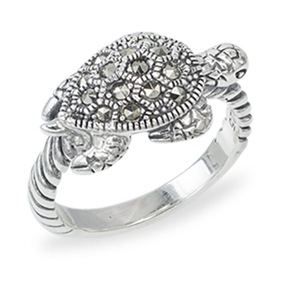 Marcasite jewelry ring HR1383 1