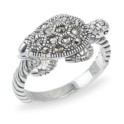 Marcasite jewelry ring HR1383 1