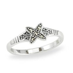 Marcasite jewelry ring HR1384 1