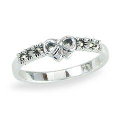 Marcasite jewelry ring HR1386 1