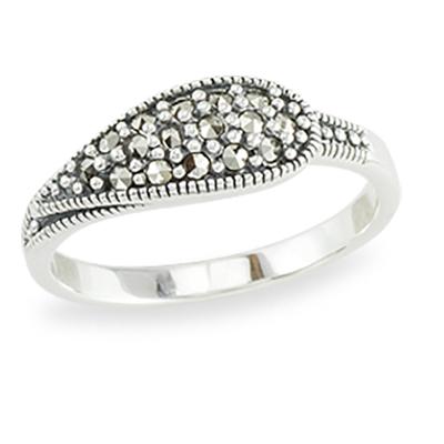 Marcasite jewelry ring HR1389 1