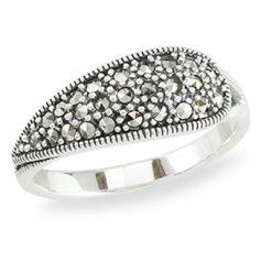 Marcasite jewelry ring HR1390 1