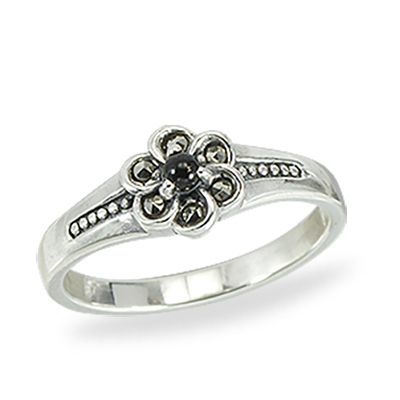 Marcasite jewelry ring HR1399 1