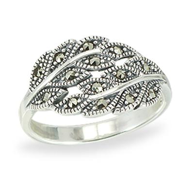 Marcasite jewelry ring HR1401 1