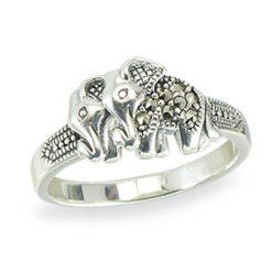 Marcasite jewelry ring HR1402 1