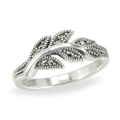 Marcasite jewelry ring HR1403 1