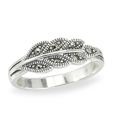 Marcasite jewelry ring HR1404 1